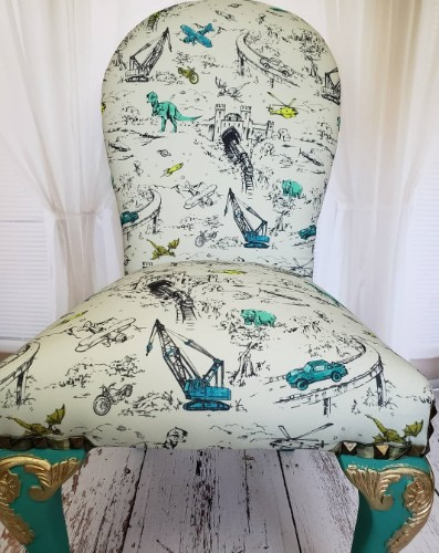 Dragon Adventure Accent Chair