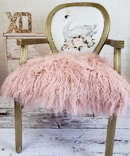 Swan Princess Accent Chair